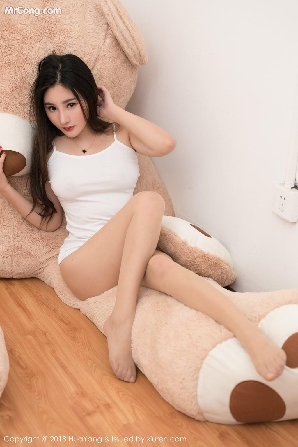 Image HuaYang-2018-03-02-Vol.034-Xiao-Tian-Xin-Candy-MrCong.com-020 in post HuaYang 2018-03-02 Vol.034: Người mẫu Xiao Tian Xin (小甜心Candy) (41 ảnh)