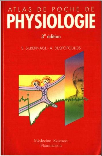 Livre : Atlas de poche de physiologie - Stefan Silbernagl PDF