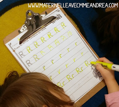 Looking for ways to help you primary French students learn how to correctly form their letters? Letter formation can be a challenge to teach and practice in maternelle. Check out this blog post to read about how to implement an effective routine that your students will love during your calligraphie time!