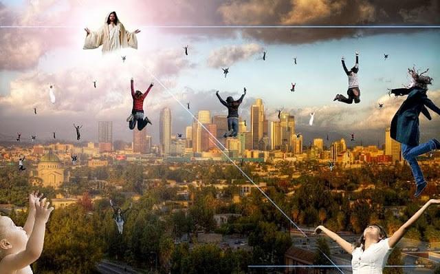 Simulação da Vinda de Jesus - Veja o Vídeo Muito Forte