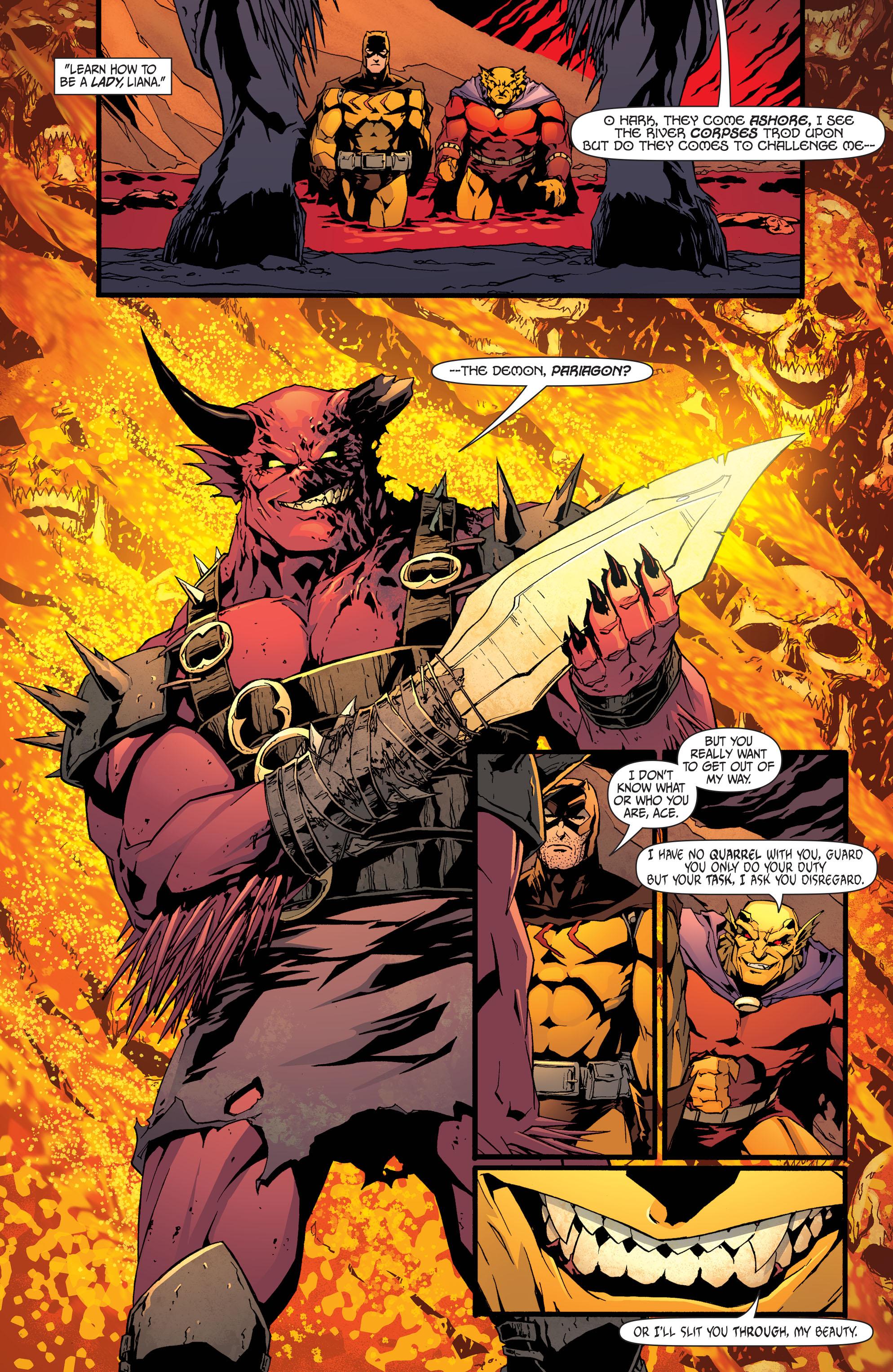 Read online Secret Six (2008) comic -  Issue #32 - 11