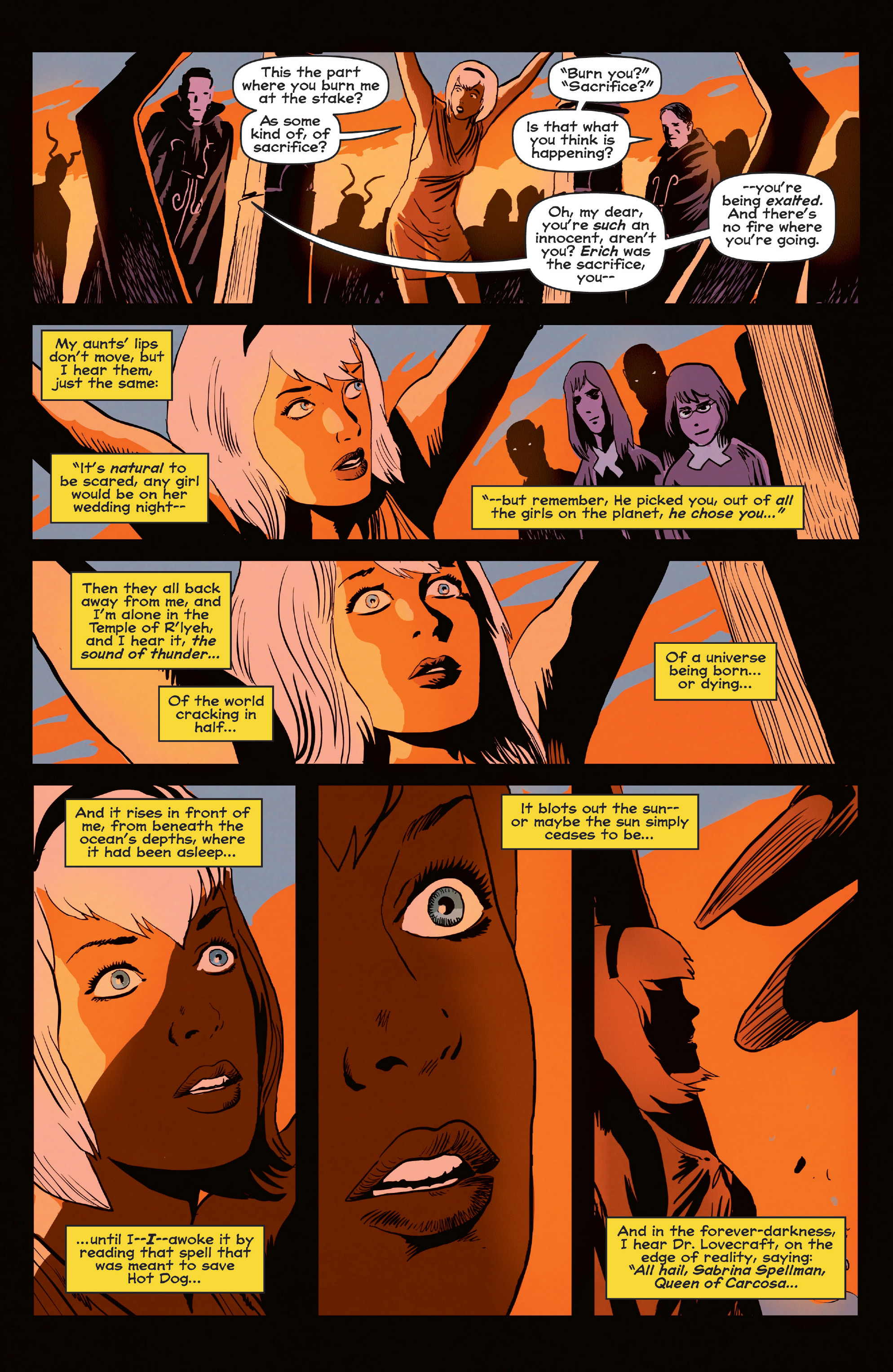 Read online Afterlife with Archie comic -  Issue #6 - 23