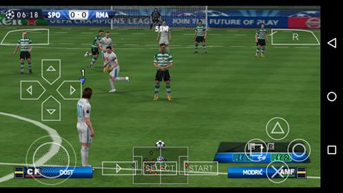 تحميل لعبة بيس 2018 علي محاكي PSP للاندرويد برابط مباشر من ميديا فاير
