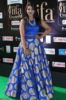 Madhu Shalini Looks Super Cute Slim trim Blue Choli Ghagra IIFA Utsavam Awards 47.JPG