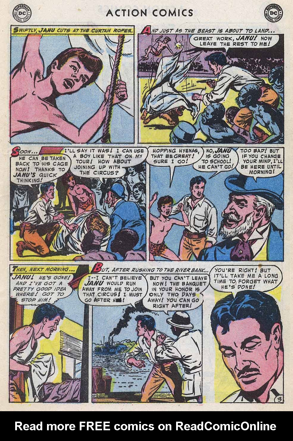 Read online Action Comics (1938) comic -  Issue #196 - 19