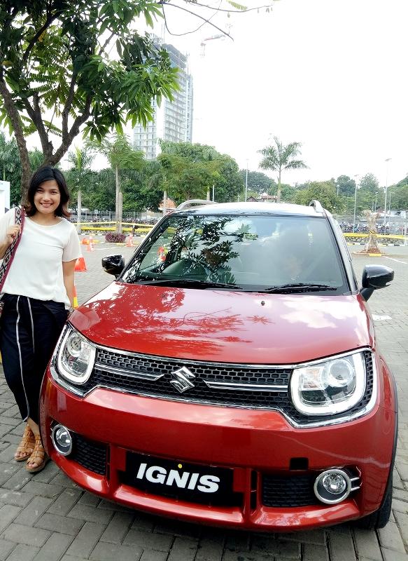 suzuki ignis, lifestyle blogger, zata ligouw