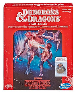 Stranger Things D&D box cover