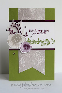 Stampin' Up! First Frost Pop-Up Diorama Card ~ www.juliedavison.com
