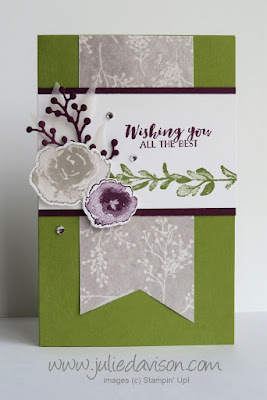 VIDEO: First Frost Pop Up Diorama Card Tutorial ~ Stampin' Up! 2018 Holiday Catalog ~ www.juliedavison.com