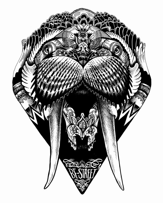 Simply Creative: Animal Illustrations By Iain Macarthur