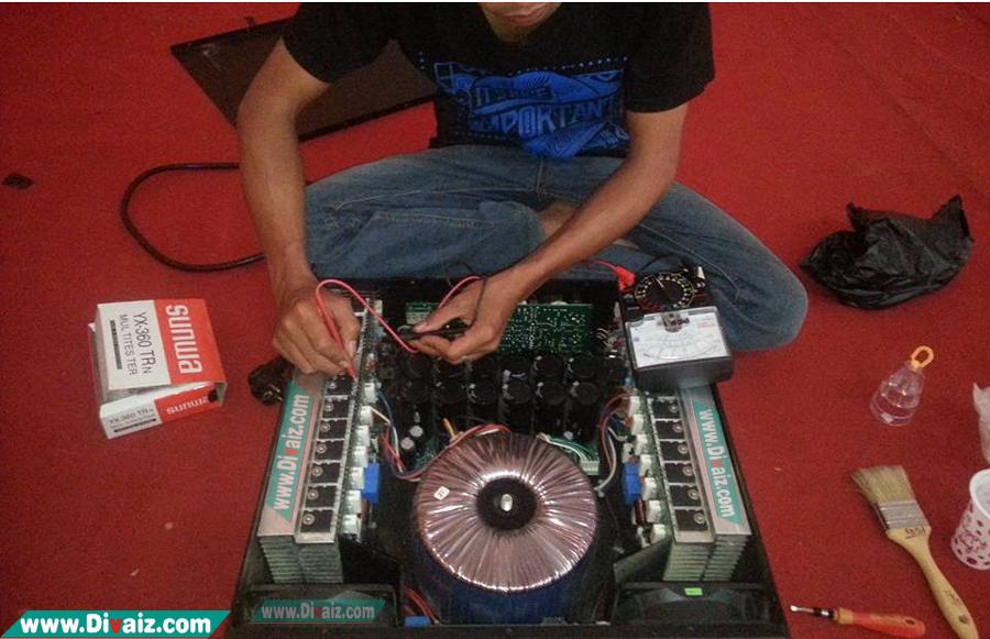 Cara Memperbaiki Dan Mencari Kerusakan Power Amplifier