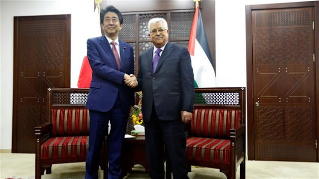 Japanese Prime Minister Shinzo Abe: Embassy will not be relocated to Jerusalem al-Quds
