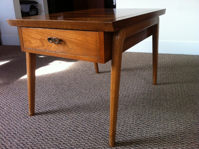 Thrifty Business Phx Mid Century Modern Lane Coffee Table And End