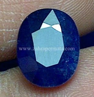 Batu Permata Royal Blue Saphire - ZP 646