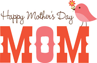 Clipart Image of a Happy Mother's Day Message