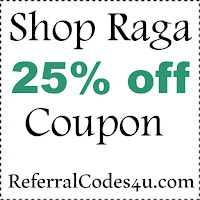 Shop Raga Discount Code 2021, Raga.com Coupon January, February, March, April