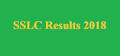 SSLC Result 2018