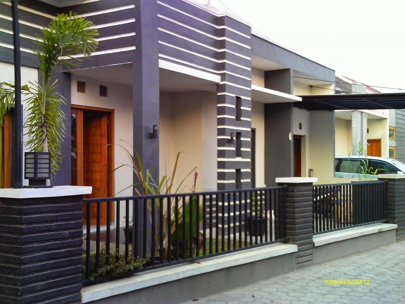 Model Pagar Minimalis Terbaru Terfavorit - Cafe Elwazeen