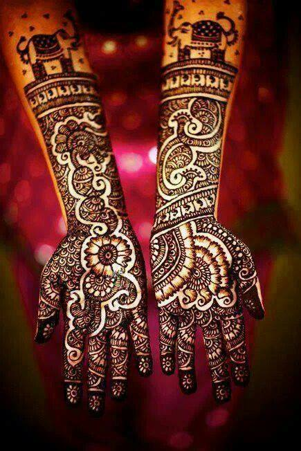Bridal Designs for Full Hands 7