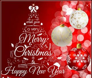 50+Contoh Kartu ucapan Dan Kata-Kata Selamat Hari Natal Dan Tahun Baru Terbaru