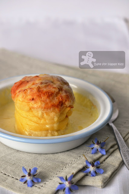 double baked gruyere cheese souffles