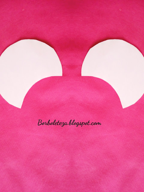 How to make minnie's ear
