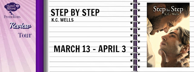 Review Tour incl Release Day Review & Giveaway: Step by Step by K.c. Wells