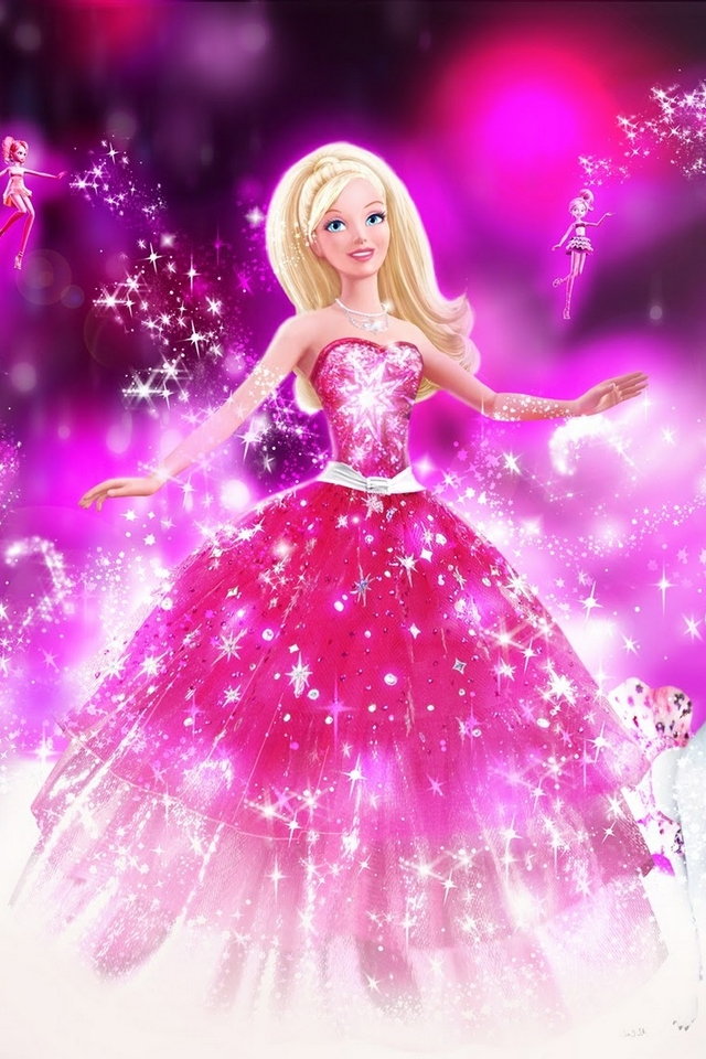 Barbie download iphone ipod touch android wallpapers - Barbie images for wallpaper ...