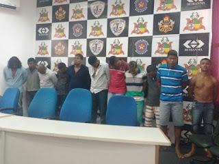 Suspeitos de integrar organização criminosa são presos em São Luís
