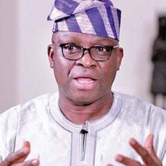 Fayose Told APC To Prepare For War Against  Defeat in  Presidential Election