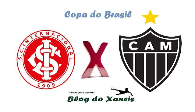 Internacional x Atlético MG Copa do Brasil Semifinal, Jogo 1 26/10/2016, 21:45 Estádio Beira-Rio, Porto Alegre, Rio Grande do Sul