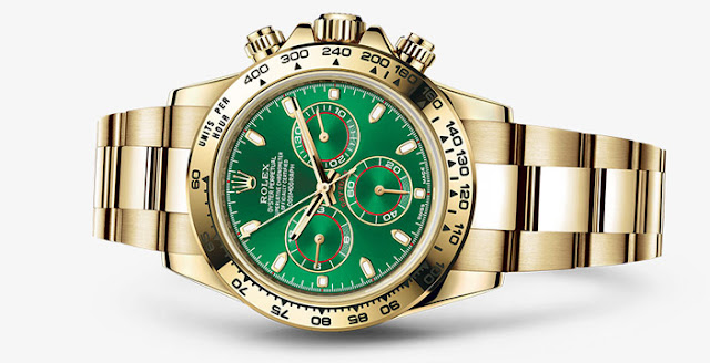 Green Rolex Daytona Watch