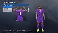 PES 2017 Fiorentina Classic Kits