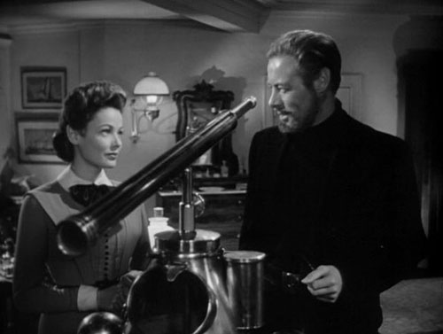 Rex Harrison and Gene Tierney