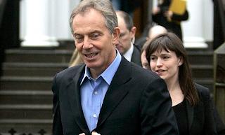 RICHARD KAY: Blair babe Ruth starts her family
