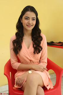 Rukshar Mir in a Peachy Deep Neck Short Dress 057.JPG