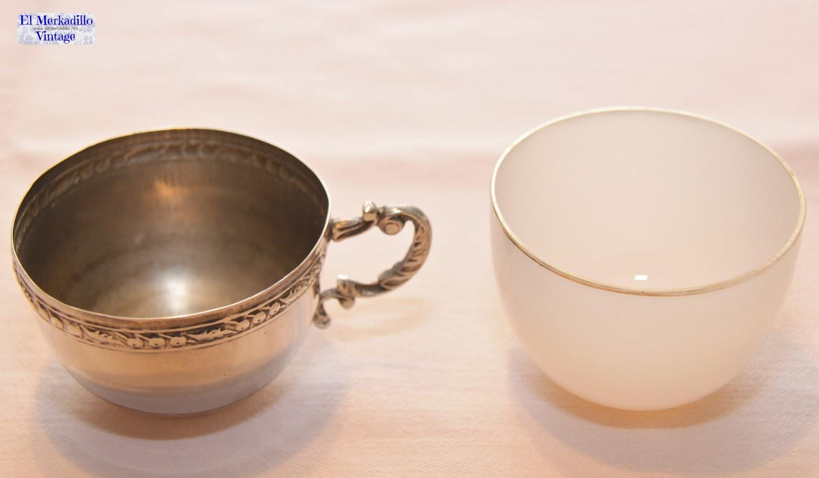 Juego de tazas caf de alpaca vendido el merkadillo for Juego tazas cafe