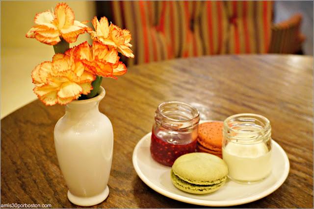 Mermelada y Clotted Cream en el Bosie Tea Parlor en Nueva York