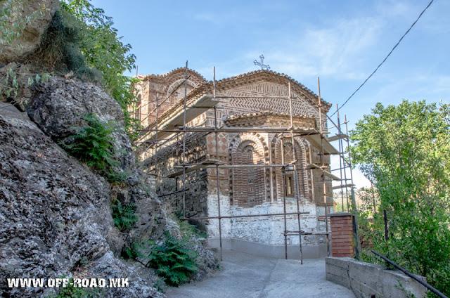 St. Dimitrij monastery in Veles, Macedonia