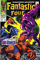 Fantastic Four v1 #76 marvel 1960s silver age comic book cover art by Jack Kirby