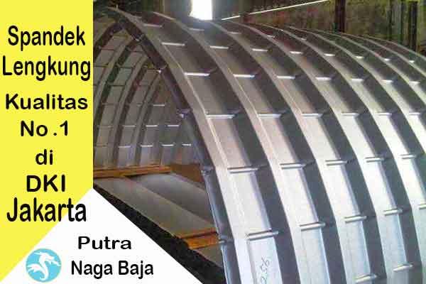 Harga Atap Spandek Lengkung Jakarta Per Meter dan Per Lembar Murah