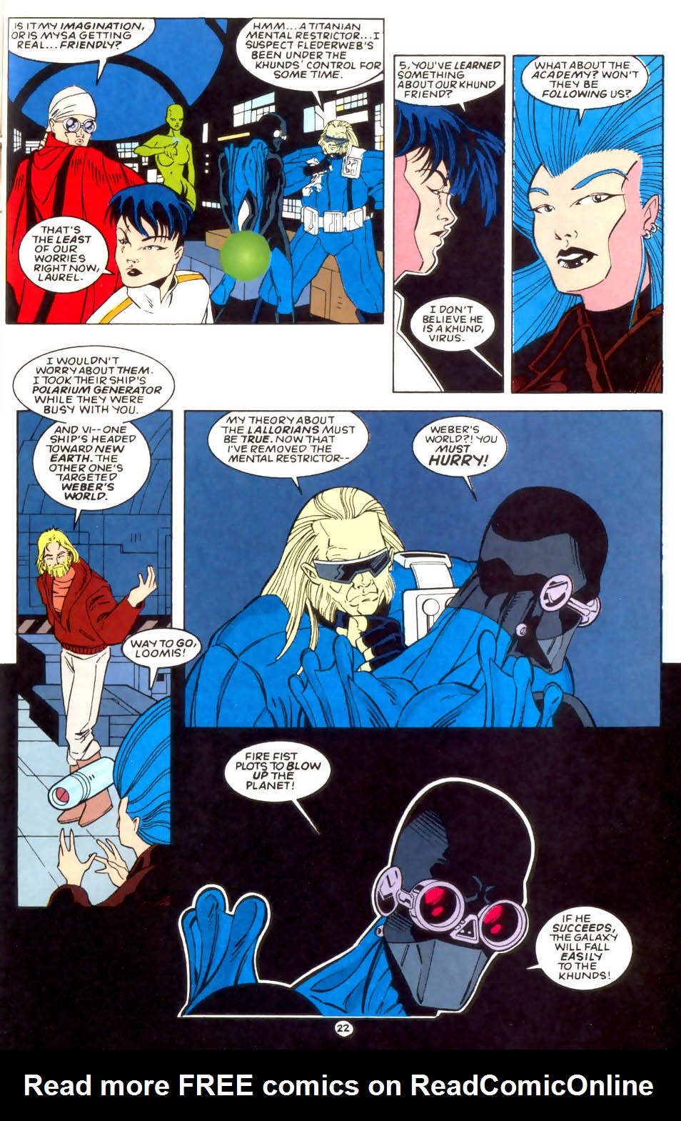 Legion of Super-Heroes (1989) 57 Page 22