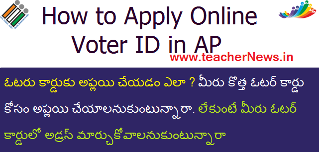 How to Apply Online Voter ID in AP at ceoandhra.nic.in | Model Application Form 6