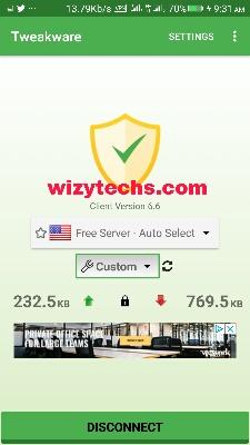 Tweakware VPN Settings For MTN Browsing Cheat August 2018