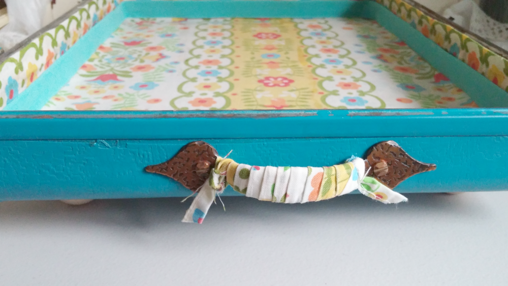 fabric wrapped handles