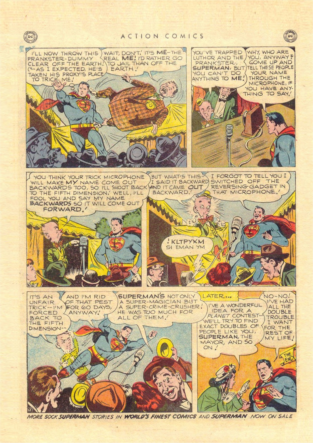 Read online Action Comics (1938) comic -  Issue #151 - 13