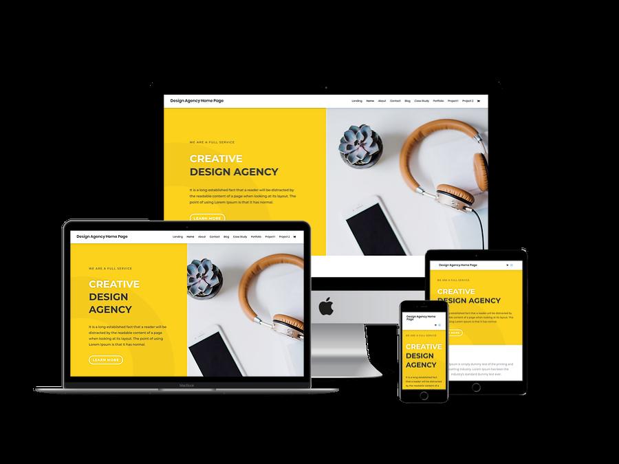 Contoh Template Website Company Profil 3