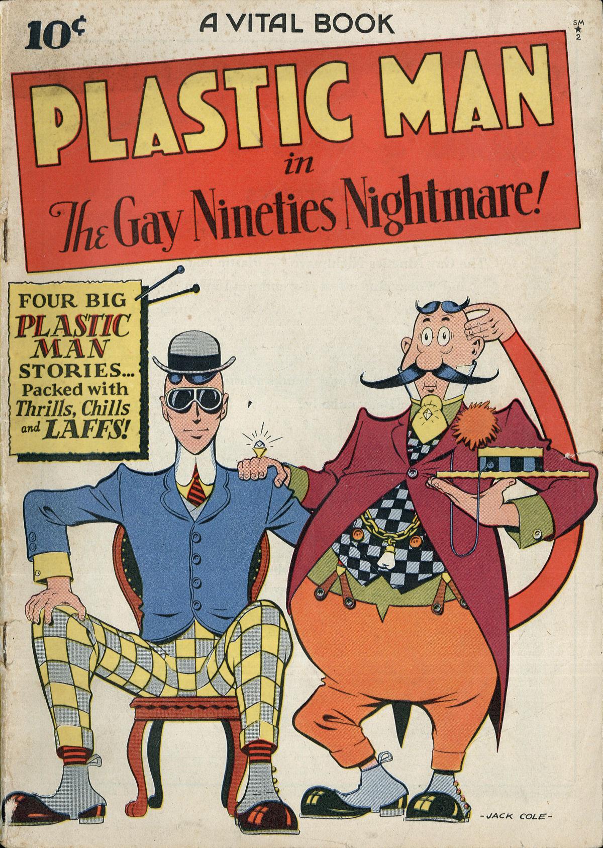Plastic Man (1943) 2 Page 1