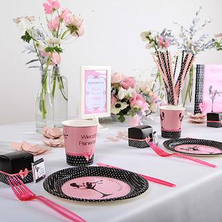 Czarno-różowe dekoracje na wieczór panieński - Queen of the Night