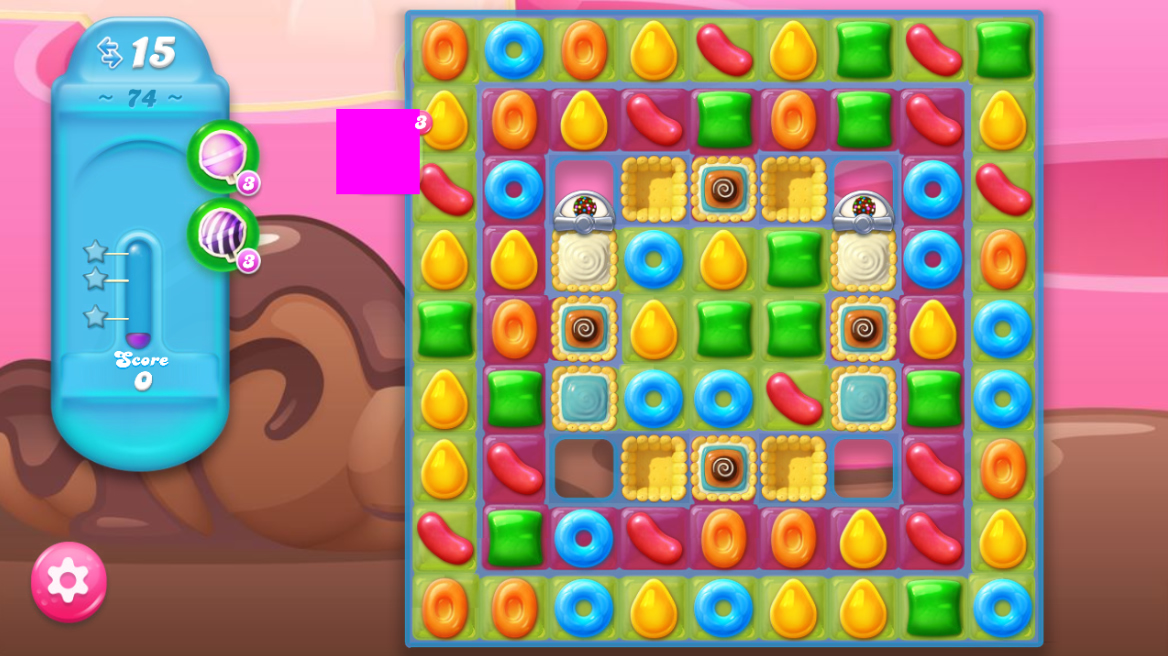 Candy Crush Jelly Saga 74